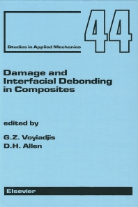 Cover image for Damage and Interfacial Debonding in Composites