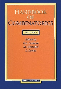 HANDBOOK OF COMBINATORICS VOLUME 1, 1st Edition,UNKNOWN AUTHOR,ISBN9780444823465