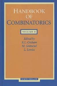 HANDBOOK OF COMBINATORICS VOLUME 2, 1st Edition,UNKNOWN AUTHOR,ISBN9780444823519