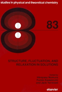 Cover image for Structure, Fluctuation, and Relaxation in Solutions
