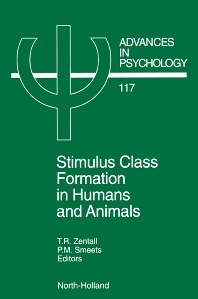 Stimulus Class Formation in Humans and Animals, 1st Edition,T.R. Zentall,P.M. Smeets,ISBN9780444824011