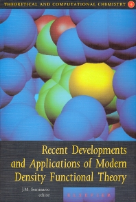 Cover image for Recent Developments and Applications of Modern Density Functional Theory