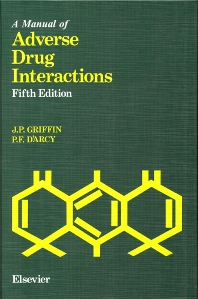 Cover image for A Manual of Adverse Drug Interactions