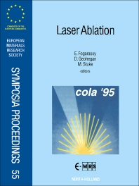 Cover image for Laser Ablation