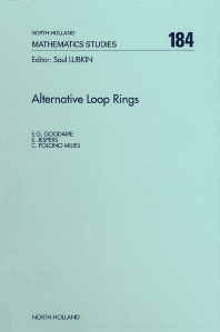 Alternative Loop Rings - 1st Edition - ISBN: 9780444824387, 9780080527062
