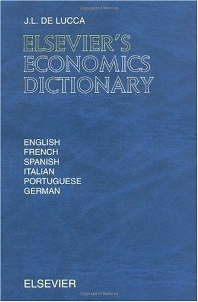 Cover image for Elsevier's Economics Dictionary