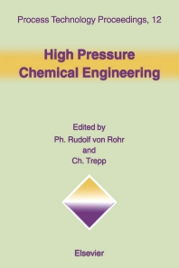 Cover image for High Pressure Chemical Engineering