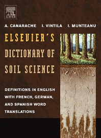 Elsevier's Dictionary of Soil Science, 1st Edition,A. Canarache,I.I. Vintila,I. Munteanu,ISBN9780444824783
