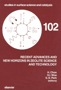 Cover image for Recent Advances and New Horizons in Zeolite Science and Technology