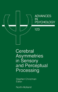 Cover image for Cerebral Asymmetries in Sensory and Perceptual Processing