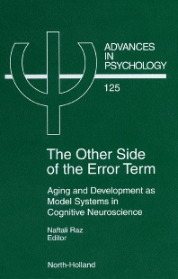 The Other Side of the Error Term - 1st Edition - ISBN: 9780444825223, 9780080538273