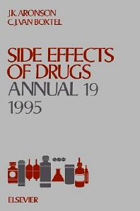 Side Effects of Drugs Annual, 1st Edition,Jeffrey K. Aronson,C.J. van Boxtel,ISBN9780444825315