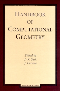 Handbook of Computational Geometry - 1st Edition - ISBN: 9780444825377, 9780080529684