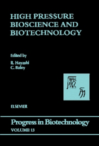 Cover image for High Pressure Bioscience and Biotechnology
