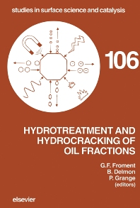Cover image for Hydrotreatment and Hydrocracking of Oil Fractions