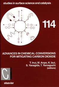 Advances in Chemical Conversions for Mitigating Carbon Dioxide - 1st Edition - ISBN: 9780444825742, 9780080526577