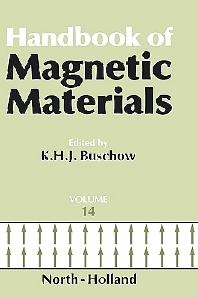 Handbook of Magnetic Materials, 1st Edition,Author Unknown,ISBN9780444825995