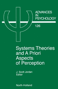 System Theories and A Priori Aspects of Perception, 1st Edition,J.S. Jordan,ISBN9780444826046