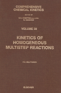 Cover image for Kinetics of Homogeneous Multistep Reactions
