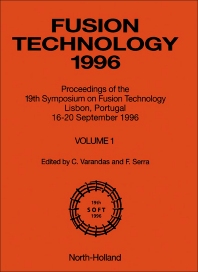 Fusion Technology 1996 - 1st Edition - ISBN: 9780444827623, 9780444599759