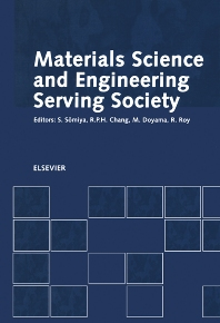 Materials Science and Engineering Serving Society - 1st Edition - ISBN: 9780444827937, 9780080535876