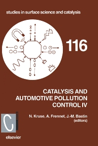 Cover image for Catalysis and Automotive Pollution Control IV
