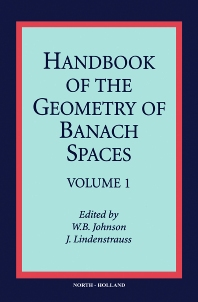 Cover image for Handbook of the Geometry of Banach Spaces