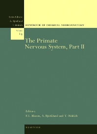 The Primate Nervous System, Part II, 1st Edition,T. Hokfelt,A. Bjorklund,Floyd Bloom,ISBN9780444829122