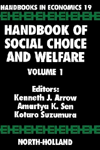Cover image for Handbook of Social Choice and Welfare