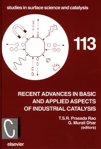Recent Advances in Basic and Applied Aspects of Industrial Catalysis - 1st Edition - ISBN: 9780444829207, 9780080540382