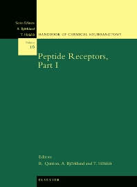 Cover image for Peptide Receptors, Part I