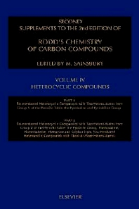 Heterocyclic Compounds - 2nd Edition - ISBN: 9780444829801