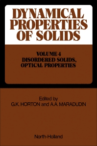 Metals, Superconductors, Magnetic Materials, Liquids Disordered Solids, Optical Properties - 1st Edition - ISBN: 9780444853158, 9780444599896