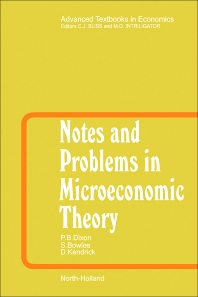 Cover image for Notes and Problems in Microeconomic Theory