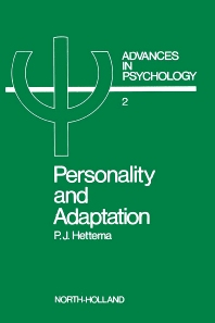 Personality and Adaptation - 1st Edition - ISBN: 9780444853806, 9780080866567