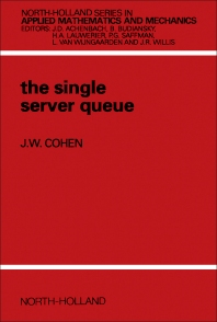 The Single Server Queue - 2nd Edition - ISBN: 9780444854520, 9780444596246