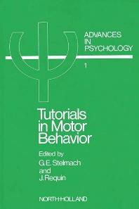 Cover image for Tutorials in Motor Behavior I