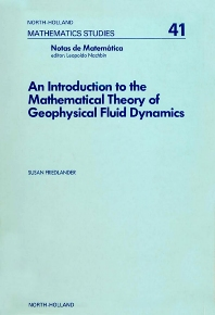 Cover image for An Introduction to the Mathematical Theory of Geophysical Fluid Dynamics