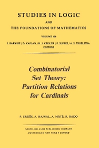 Cover image for Combinatorial Set Theory: Partition Relations for Cardinals