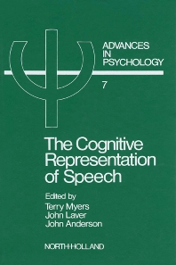 The Cognitive Representation of Speech - 1st Edition - ISBN: 9780444861627, 9780080866611