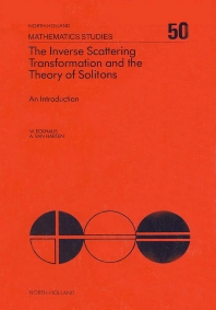 Cover image for The Inverse Scattering Transformation and The Theory of Solitons