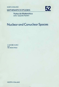 Cover image for Nuclear and Conuclear Spaces