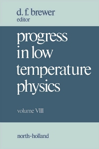 Progress in Low Temperature Physics - 1st Edition - ISBN: 9780444862280, 9780080873039