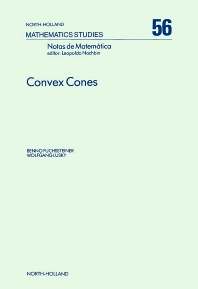 Convex Cones - 1st Edition - ISBN: 9780444862907, 9780080871677