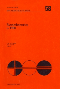 Cover image for Biomathematics in 1980