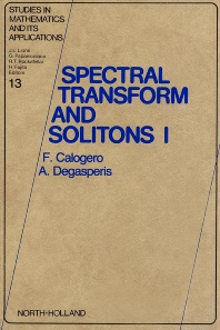 Cover image for Spectral Transform and Solitons