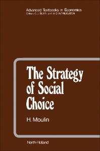 The Strategy of Social Choice - 1st Edition - ISBN: 9780444863713, 9781483256887