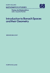 Introduction to Banach Spaces and their Geometry - 1st Edition - ISBN: 9780444864161, 9780080871790