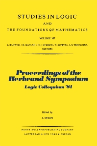 Proceedings of the Herbrand Symposium - 1st Edition - ISBN: 9780444864178