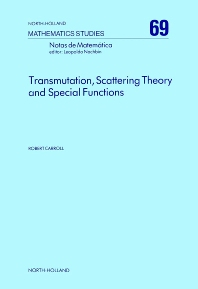 Cover image for Transmutation, Scattering Theory and Special Functions